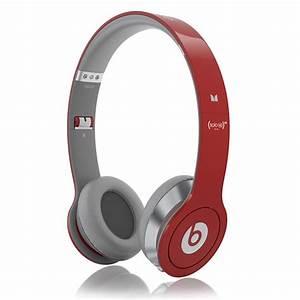 Beats by Dre Beats Solo HD RED Headphones | evo