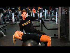 Gold's Gym Interval Training - Core - YouTube