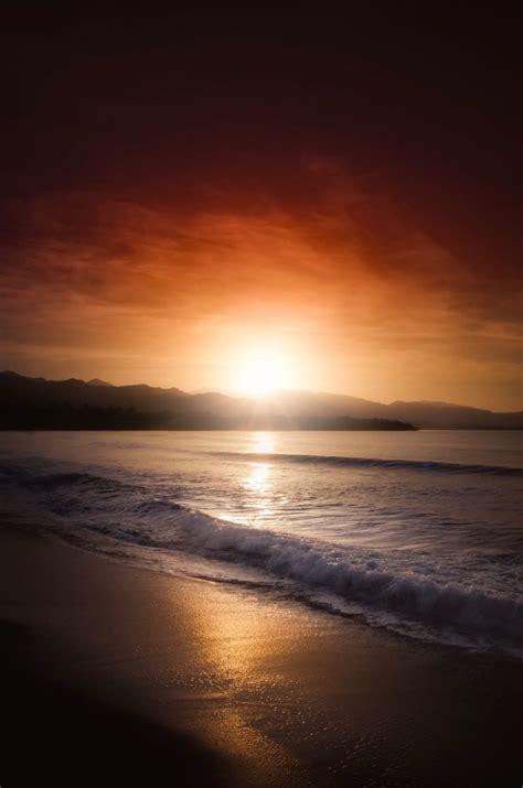 Sunset Beach Portrait - Free Stock Photos | Life of Pix
