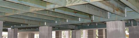joists maximum spans raised floor living pro maximum