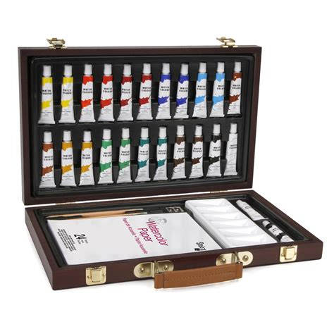 studio 71 watercolor paint set with travel