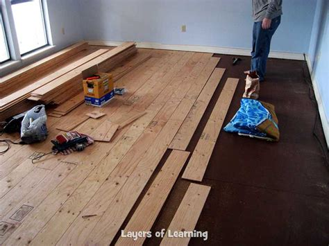 how to level a plywood floor for laminate real wood floors made from plywood