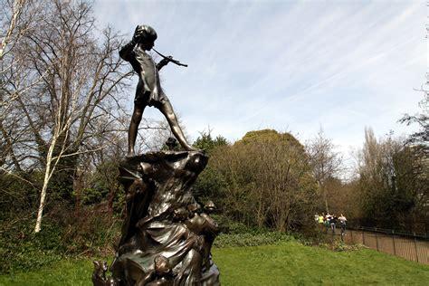 pan in kensington gardens file pan statue in kensington gardens in the city of