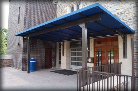 dac architectural fabric metal entrance drop  canopies