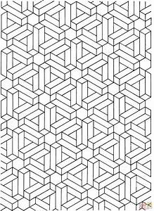 Printable Illusions Coloring Pages - Coloring Home