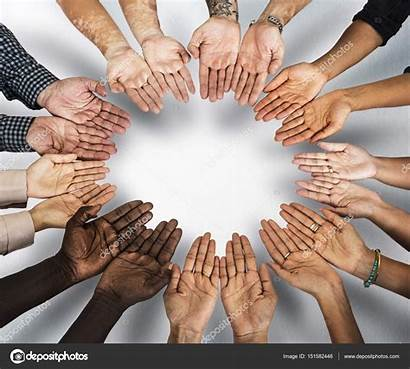 Hands Human Circle Assembled Depositphotos Rawpixel