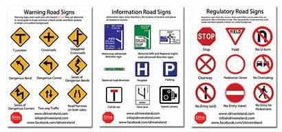 Road Signs Learn Driving Rules Irish General