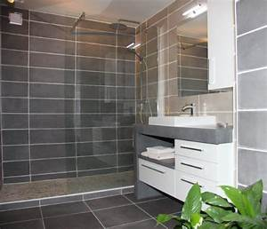 Meuble Salle De Bain Moderne : meuble salle de bains design atlantic bain ~ Nature-et-papiers.com Idées de Décoration