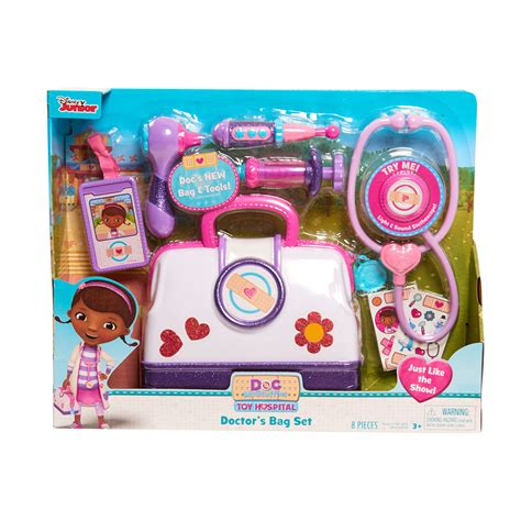 doc mcstuffins toys disney doc mcstuffins toy hospital bag set free shipping new ebay