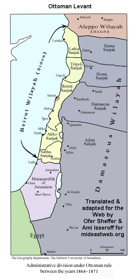 Ottoman Rule by What Was Palestine Called During Ottoman Rule And Right