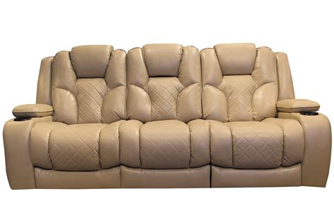 Table With Sofa by Turismo Power Reclining Sofa With Drop Table At