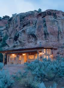 Canyon Culture: A House Built into a Rock Wall