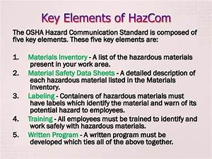 hazcom training With each warning label must contain this element