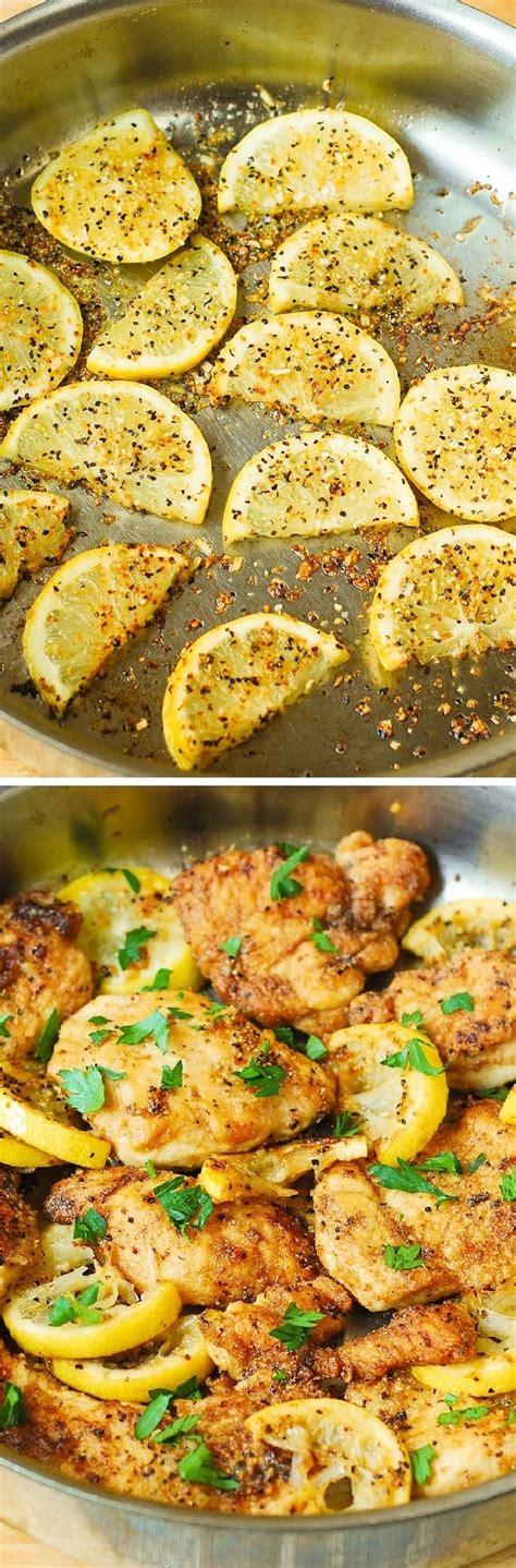 lemon butter chicken breast lemon butter chicken breasts recipe 30 minute recipe lemon chicken and skillet