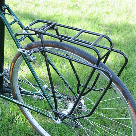 bike rear rack tubus logo evo rear bicycle rack on