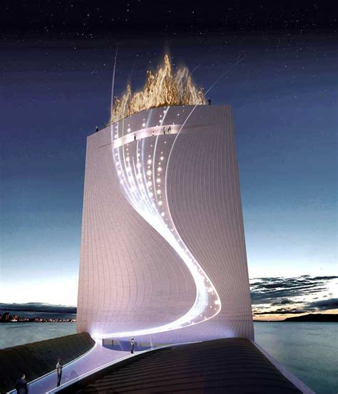 olympic tower  rio solar city tower design