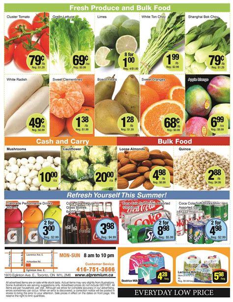 premium cuisine al premium food mart flyer june 30 to july 6