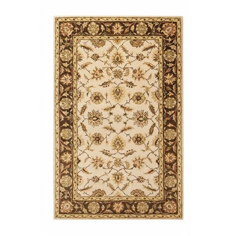 home depot rug home decorators collection beige 2 ft 3 in x