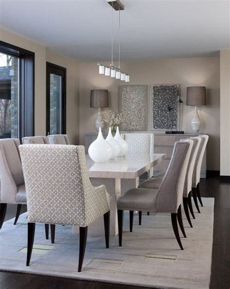 Taupe Living Room Ideas Uk by Best 25 Contemporary Dining Rooms Ideas On Pinterest