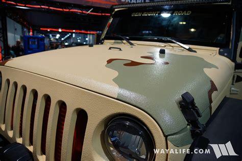 sema bullet liner jeep jk wrangler