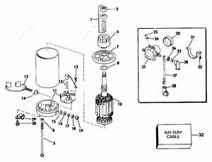 Johnson 1991 25 - J25eeid  Electric Starter  U0026 Solenoid