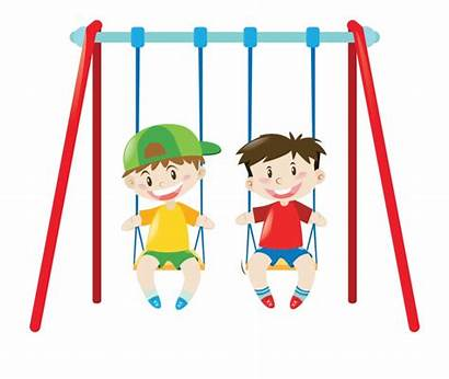 Swing Clipart Park Kid Transparent Downloads Vippng