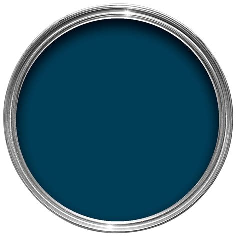 Kitchen Paint Colors B And Q by Dulux Feature Wall Teal Tension Matt Emulsion Paint 1 25l