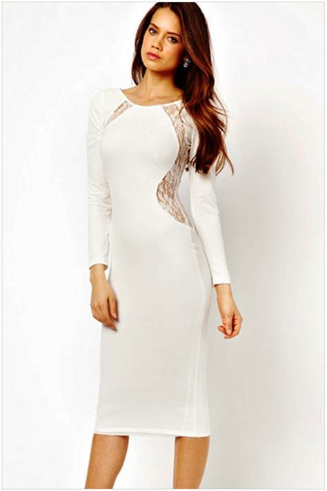 All White Dresses For A Party  Black Party Dresses