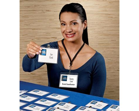 employee badges online amazon com 5361 laminated i d cards box of 30