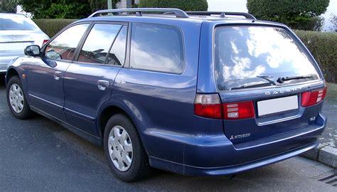 Mitsubishi Galant Wiki by File Mitsubishi Galant Kombi Rear 20080318 Jpg