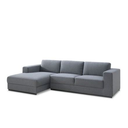 canape meridienne gris canapé d 39 angle côté gauche design 4 places avec méridienne