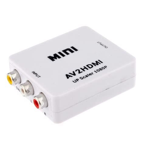 Harga Mini Hdmi To Rca 360dsc rca av to hdmi converter adapter mini composite