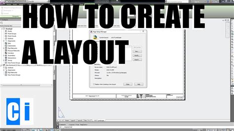 Autocad How To Create Layouts  New Layout Tutorial Youtube