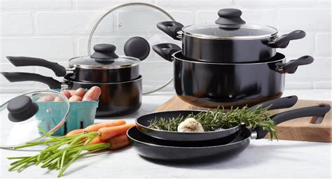 cookware amazon basics nonstick pan pots pans piece handle per works amazonbasics lasts snag fantastic score while head