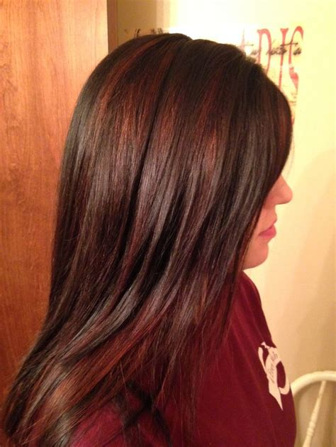 17 Best Ideas About Red Highlights On Pinterest Red