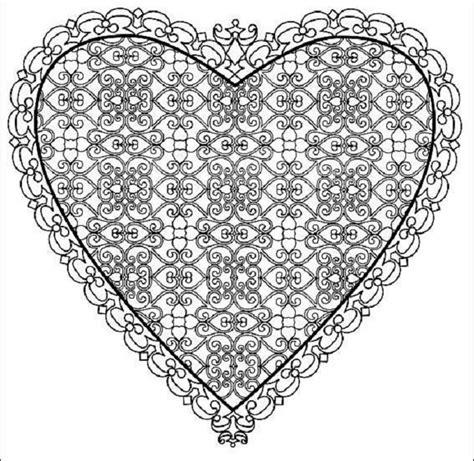printable heart templates diy  ideas