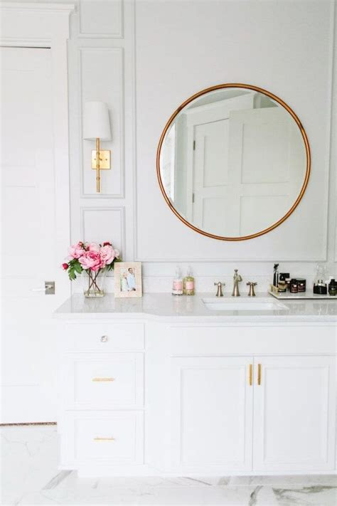 The bathroom sink and tub are custom designs, and the fittings are antique. 25+ Best Bathroom Mirror Ideas For a Small Bathroom