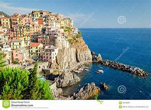 Manarola, Cinque Terre (Italian Riviera, Liguria) Stock