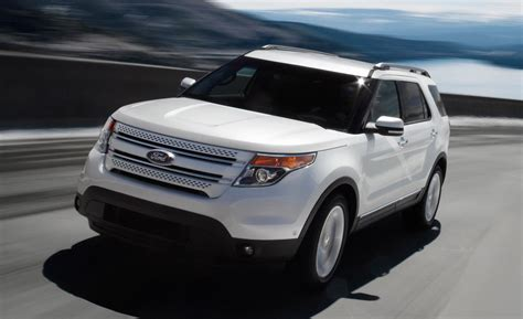 cars ford explorer car and driver