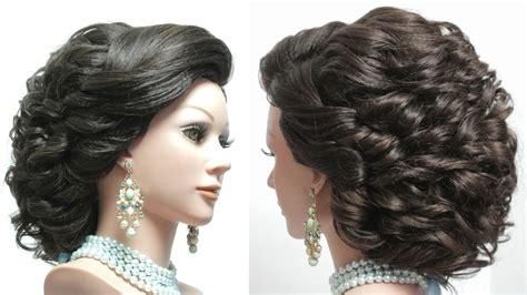 hairstyle  long hair tutorial bridal updo step  step