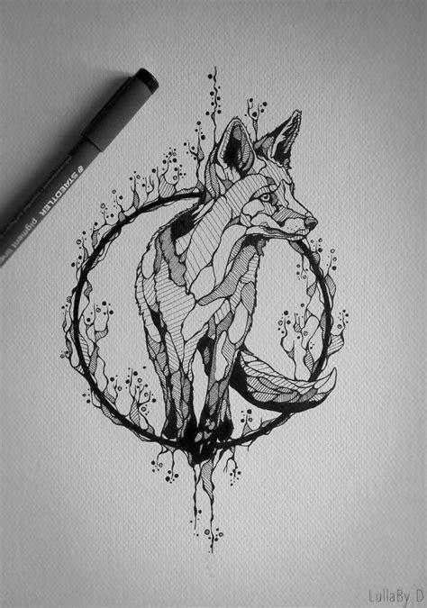 tattoo design fox tatoeage tatoeage ideeen en tatoeages