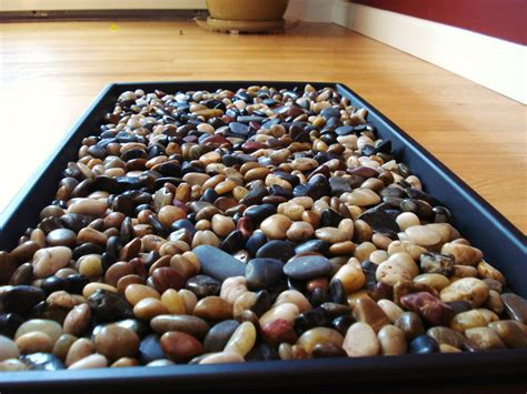 colored river rocks maine home river rock boot tray