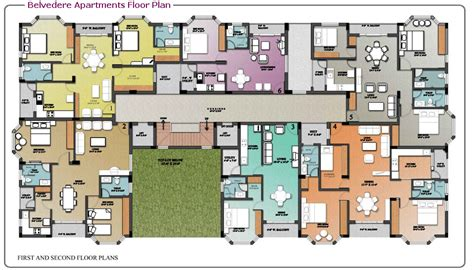 luxury mansion floor plans overview belvedere apartments at madinaguda pjr enclave