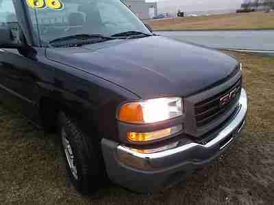hayes auto repair manual 2001 gmc sierra 1500 instrument cluster sell used 2006 gmc sierra regular cab w t v6 manual trans a c one owner in plainfield