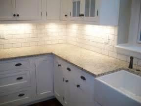 white tile kitchen backsplashes shade of white subway tile backsplash with white cabinets