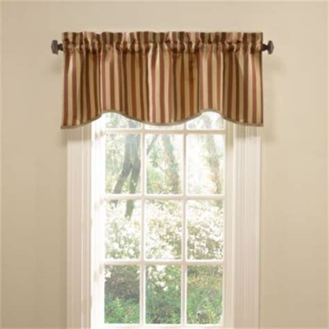 Striped Valances by Buy Striped Valances For Windows From Bed Bath Beyond