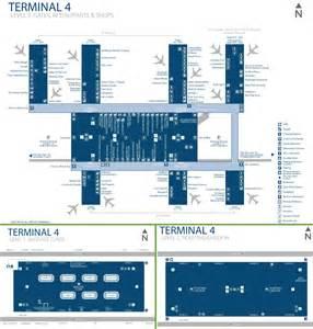 Phoenix Airport Terminal 4 Map