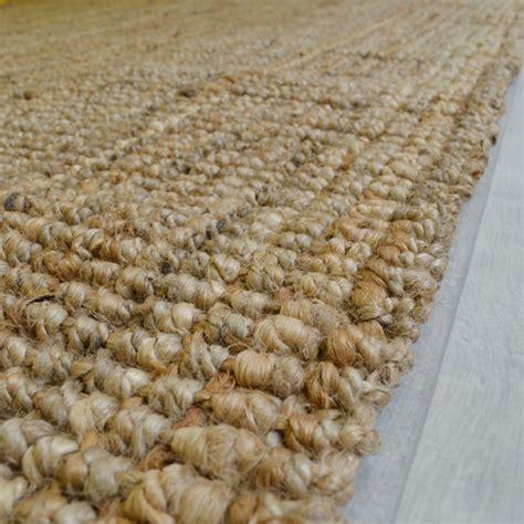 tapis naturel boheme  jute tous les tapis deco