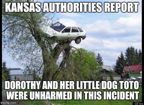 Kansas Meme - secure parking meme imgflip