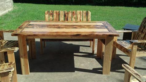 طاولة حدائق خشبية المرسال